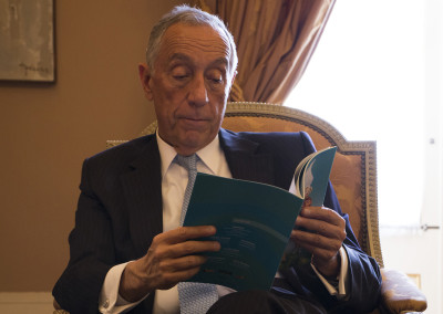 His Excellency the President of the Portuguese Republic, Professor Marcelo Rebelo de Sousa