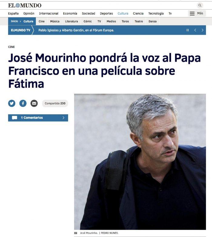 El Mundo - Mourinho