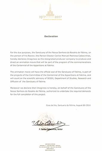 Fatima letter
